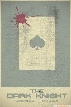 The Dark Knight - minimalist movie poster