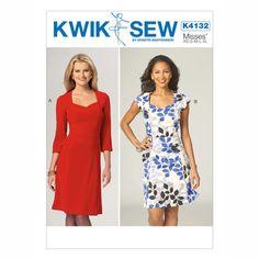 Damklänningar, KwikSew 4132