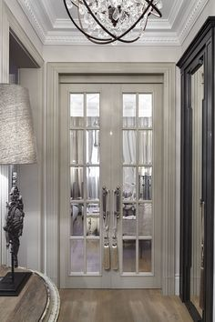 Single French Door Interior Interior Pantry Doors Interior Oturma Odası – home accessories French Door Decor, Interior French Doors, Interior Door, Single French Door, Flur Design, Design Design, Apartment Door, Apartment Design, Indoor Doors