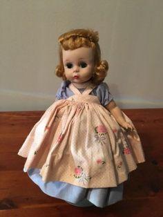Vintage-Madame-Alexander-Doll-Alex-Alexanderkins-1950-034-s-Bent-Knee-Sleep-Eyes-8-034