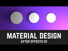 T013 Material Design Layers & Shadows in After Effects (Light Tool Tutorial) - YouTube