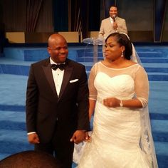 Sinach Weds Joseph - All The White Wedding Pictures and Video of First Kiss