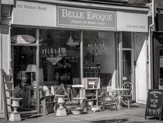 Surrey: East Molesey. Belle Époque (online too.) Good for mirrors.
