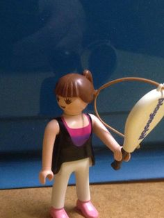 Playmobil.Figur Frau mit Tennisschläger