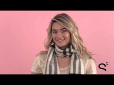 How to tie a cashmere scarf - Different Ways to Tie a Scarf: Watch   StyleCaster