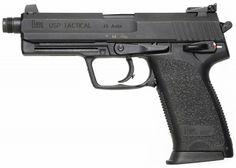 b7217a6c1 Heckler & Koch USP Tactical - .45 ACP. Heckler & Koch Usp, Threaded