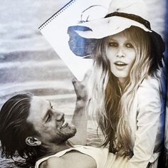 I have to take a moment to love this beautiful Vogue image of the stunning Anna Ewers and Charlie Hunnam #notnormal #bardotmoment #brucewebergenius xoRZ