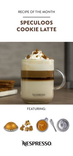 Let's discover our tastiest Nespresso coffee recipes Starbucks Pumpkin, Pumpkin Spice Coffee, Milk Recipes, Gourmet Recipes, Gourmet Foods, Ninja Coffee Bar Recipes, Nespresso Recipes, Speculoos Cookies, Coffee Latte