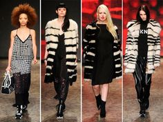 DKNY Fall/Winter 2014-2015 Collection - New York Fashion Week   #NYFW #MBFW #NewYorkFashionWeek #fashion