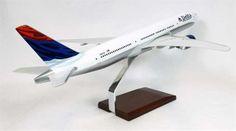 B777-200 Delta - Premium Wood Designs #Commercial #Aircraft premiumwooddesigns.com