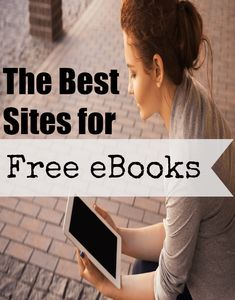 The Best Sites for Free eBooks Check out these 7 sites where you can get thousands of eBooks for FREE! The Best Sites for Free eBooks Free Epub Books, Free Kindle Books, Free Ebooks, Free Audio Books, Ebooks Online, Free Books Online, Books To Read Online, Find A Book, Any Book