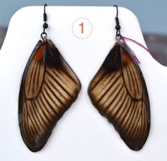 2 Different Sets of Butterfly Wing Earrings & 1 by myNaturesDESIGN, $49.00