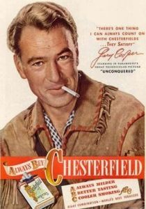 gary cooper and chesterfield