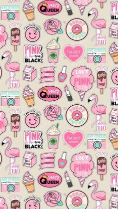 Get Latest Anime Wallpaper IPhone Pattern Print pink Unicornios Wallpaper, Kawaii Wallpaper, Tumblr Wallpaper, Galaxy Wallpaper, Disney Wallpaper, Drawing Wallpaper, Wallpaper For Girls, Wallpaper Notebook, Cute Pastel Wallpaper