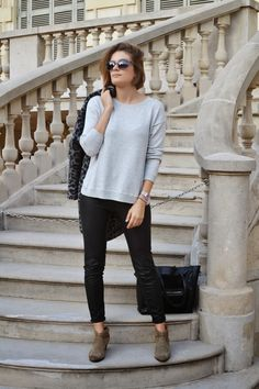 anoukmeetsfashion: OUTFIT | LEOPARD LEATHER AND SUEDE