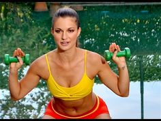 13-Minute Total Body Workout with Dumbbells / Strength Training for Women 80-130 Calories - YouTube