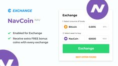NavCoin $NAV - an open-source, blockchain-based, proof-of-stake cryptocurrency - is now added for exchange on MyCointainer!   Buy & sell fiat and receive free bonuses with every exchange. Visit MyCointainer today! Open Source, Fiat, Blockchain, Cryptocurrency, Coins, Ads, Stuff To Buy, Coining, Rooms