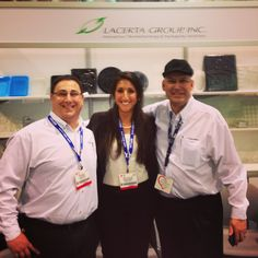 Three of our representatives at the Boston Seafood/ New England Food Tradeshow this year!