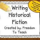 Do your kids need help with writing Historical Fiction? We have found that these brainstorming sheets & organizers have been very helpful for o...