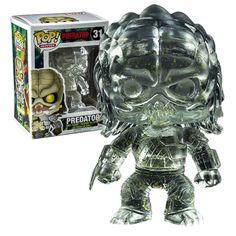 Funko POP! Predator Clear with Alien Splatter #31 Vinyl Figure