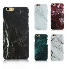 Fashion Marble Phone Case for iPhone 6 6s Plus Hard Plastic Cases for iPhone 7 Plus 5s SE Cover Coque Ultrathin Back Covers