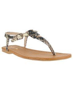 MIA Tonga Flat Sandals