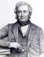 John Stevens Henslow (1796-1873), Charles Darwin's mentor.  Henslow influenced Darwin's whole career more than any other, according to Darwin  http://www.macroevolution.net/charles-darwins-autobiography-3.html#.Uw1VHoVnjOQ