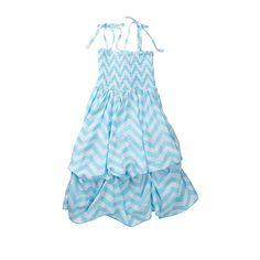 Chevron Infinity Dress