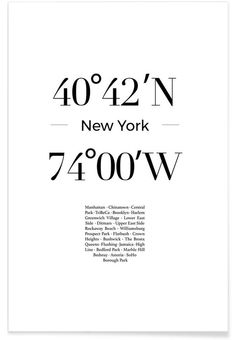 Buy Posters and Wall Art Prints Online New York Tattoo, New York Poster, Paris Poster, New York Trip, New York City Travel, New York Quotes, City Quotes, Voyage New York, Rockaway Beach