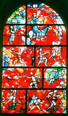 Take a tour of Chichester Cathedral, England. See the stained glass window by Chagall and tapestries by John Piper and Graham Sutherland. Stained Glass Studio, Fused Glass Art, Stained Glass Art, Stained Glass Windows, Marc Chagall, Quelques Photos, Georges Braque, Orange Art, Mystique