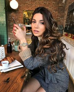 Stunning Negin Mirsalehi with shiny loose curls hairstyle. #hair #hairgoals #longhair #hairstyle #curls #beauty #neginmirsalehi #fabfashionfix