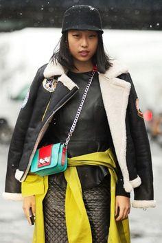 _Margaret_Zhang_at fashion week/Refinery29