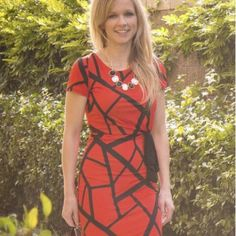 Red Revival Dress Attractive Dress for Any Occasion Relished Dresses Midi