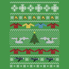 Star Trek Ugly Christmas Sweater + Card by rydiachacha