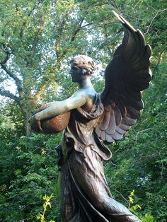 Angel Statue in the Public Garden | Flickr - Photo Sharing!