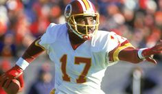 Doug Williams becomes the African-American Quarterback to win the Super Bowl and the MVP (XXII) on January Washington Redskins, Doug Williams, National Football League, Tampa Bay, College Football, Champs, Super Bowl, Football Helmets, Nfl