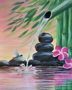 Find the perfect thing to do tonight by joining us for a Paint Nite in Edmonton,… Find the perfect thing to do tonight by joining us for a Paint Nite in Edmonton, AB, Canada, featuring fresh paintings to be enjoyed over drinks! Small Canvas Art, Easy Canvas Painting, Acrylic Painting For Beginners, Simple Acrylic Paintings, Diy Canvas Art, Beginner Painting, Zen Painting, Oil Pastel Art, Painting Inspiration
