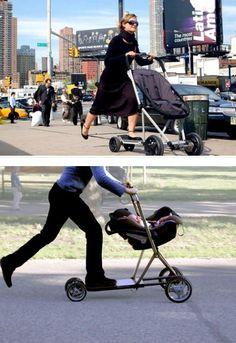 #Baby Stroller and Scooter Hybrid# 즐겁게 유모차 사용하세용~