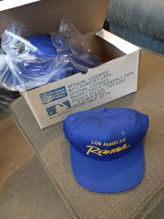 Old Los Angeles Rams hats http://ift.tt/2cfjfle Love #sport follow #sports on @cutephonecases