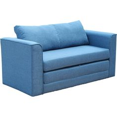 Give overnight guests a resort-worthy experience during their next visit with this essential sleeper loveseat, featuring a clean-lined look to blend into any environment. Featuring a sturdy wood base wrapped with foam padding wrapped in tightly woven microfiber upholstery, this understated loveseat lends a bit of breezy appeal to your ensemble, while its fold-out foam cushion transforms this design into a cozy twin bed. Let it sit in your home office or guest room as an extra seat in the…