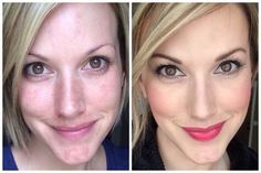 Before- no make up After- all Younique products   www.fancymascaragirl.com