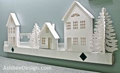 Little Paper House Tutorial