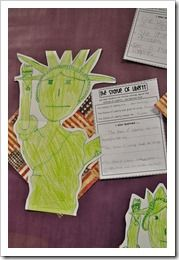 Statue of Liberty Writing Project. #SocialStudies #Government
