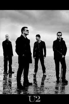 - rock band - Bono, The Edge, Adam Clayton, and Larry Mullen, Jr. I believe they are the greatest band ever. The beatles created rock but these guys gave it a brain and humanity. Adam Clayton, Kinds Of Music, Music Love, Music Is Life, Rock Music, Hard Rock, U2 Music, Music Bands, Trip Hop