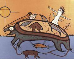 Image result for ojibwe hawk