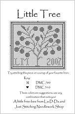 Free charts from La-d-da Cross Stitch Designs