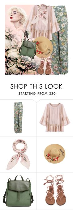 """""""My Style"""" by petalp ❤ liked on Polyvore featuring Marc, Pilot, Manipuri, Skagen, floral, ootd and pants"""