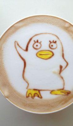 Bird Latte Art