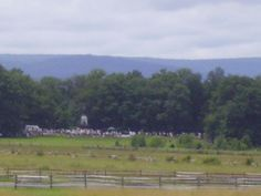 Line up at Virginia memorial for Pickett's Charge 150th