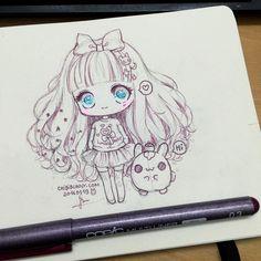Cute chibi drawing!
